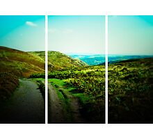 Long Mynd (Lomography) by Joel Stone