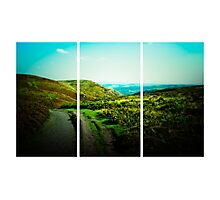 Long Mynd (Lomography) Photographic Print