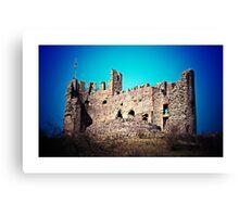 Dudley Castle (Lomography) Canvas Print