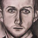 WIP Ryan Gosling by Kelly Pickering