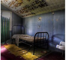 Abandoned Hotel Photographic Print