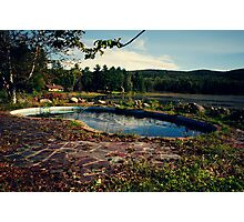 Abandoned Resort Photographic Print