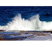 Big waves at Maroubra beach, Sydney Photographic Print