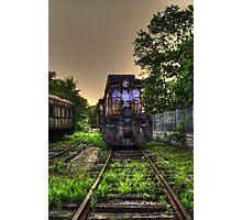 Abandoned Train Photographic Print
