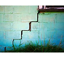 Noticeable Crack Photographic Print