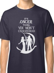 OutlawQueen Ship (b&w) Classic T-Shirt