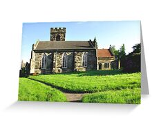 St Peter's Church, Hartshorne  Greeting Card