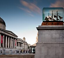 The Fourth Plinth - impossible bottle by JzaPhotography