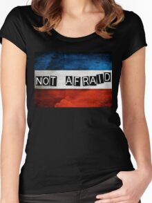 NOT AFRAID Women's Fitted Scoop T-Shirt