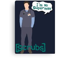 I'm no superman Canvas Print