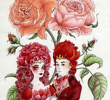 Rose Royalty by Mariya Olshevska