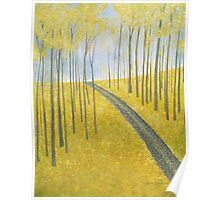 Ginkgo Hill Poster