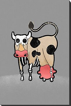 Zombie Cow by erdavid