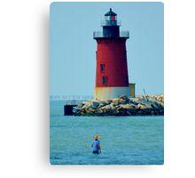 Cape Henlopen Lighthouse Canvas Print
