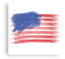 United States of America Flag USA Canvas Print