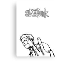 SLAM DUNK Hanamichi Sakuragi Design Canvas Print