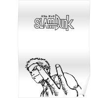 SLAM DUNK Hanamichi Sakuragi Design Poster