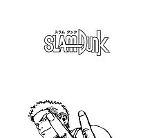 SLAM DUNK Hanamichi Sakuragi Design by thenativepanda