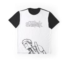 SLAM DUNK Hanamichi Sakuragi Design Graphic T-Shirt