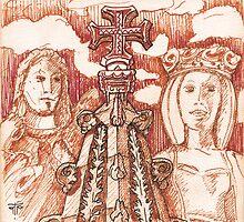Jerónimos sketch I by terezadelpilar~ art & architecture