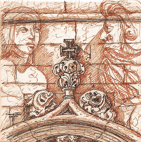 Jerónimos sketch II by terezadelpilar~ art & architecture