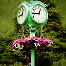 Thee 'Ole Town Clock by Trudy Wilkerson