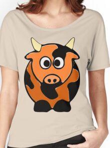 ღ°㋡Cute Brindled Cow Clothing & Stickers㋡ღ° Women's Relaxed Fit T-Shirt