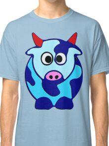 ღ°㋡Cute Brindled Cow with Red Horns Clothing & Stickers㋡ღ° Classic T-Shirt