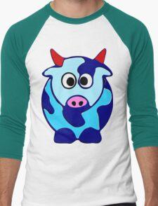 ღ°㋡Cute Brindled Cow with Red Horns Clothing & Stickers㋡ღ° T-Shirt