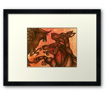 The Dogs of War II (Small Dogs of War) Framed Print