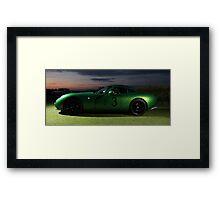 Green TVR Framed Print