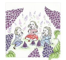 Little Lilac Eaters by Mariya Olshevska