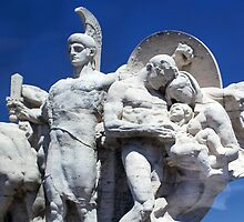 Beautiful Sculpture Trevi Fountain Rome Italy by thvisions