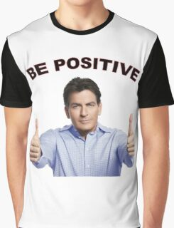 BE POSITIVE Graphic T-Shirt