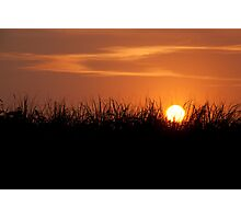 Sunset Over The Dunes Photographic Print