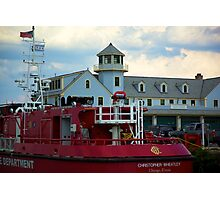 tug boat Photographic Print