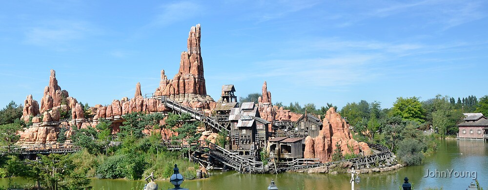 Big Thunder Mountain by JohnYoung