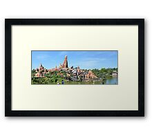 Big Thunder Mountain Framed Print
