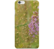 Wildflowers and Grass iphone case iPhone Case/Skin