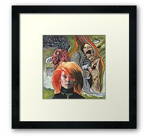 Toyah: The Blue Meaning Framed Print