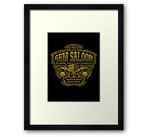 The Gem Saloon  Framed Print