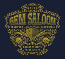 The Gem Saloon  Kids Tee