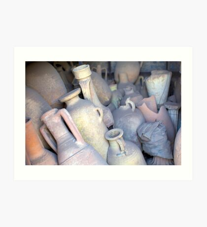 pompeii artifacts Art Print