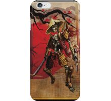 Dead Samouri iPhone Case/Skin