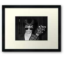 George Alexander, Flamin' Groovies Framed Print