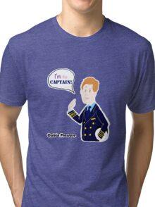 Cabin Pressure - Capitan Crieff Tri-blend T-Shirt