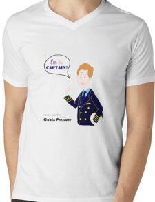 Cabin Pressure - Capitan Crieff Mens V-Neck T-Shirt