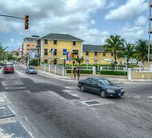 West Bay Street & Nassau Street in Nassau, The Bahamas by Jeremy Lavender Photography