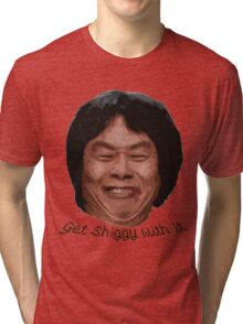 Get Shiggy with it Tri-blend T-Shirt