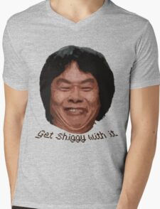 Get Shiggy with it Mens V-Neck T-Shirt